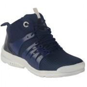 Port Men's Blue Mesh Casual Boot