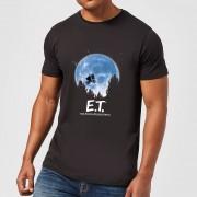 E.T. the Extra-Terrestrial Camiseta E.T. el extraterrestre Luna - Hombre - Negro - M - Negro