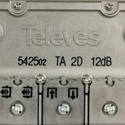 Macab Satelliet Splitter F-Splitter Satelliet 12 dB / 5-2400 MHz - 2 Uitgangen