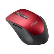 Myš ASUS MOUSE WT425 Wireless red - optická bezdrôtová, červená