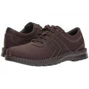 Clarks Vanek Walk Dark Brown Leather
