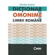 Dictionar de omonime al limbii romane/Nicolae Andrei