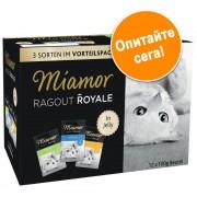 Комбинирана пробна опаковка Miamor Ragout Royale 12 x 100 г - мулти микс в сос