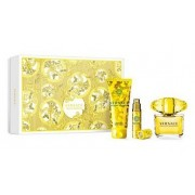 Versace Yellow Diamond Woda toaletowa 90ml spray + Balsam do ciała 100ml + Woda toaletowa 10ml spray