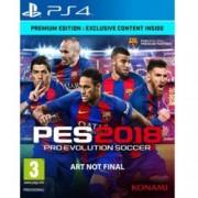 Pro Evolution Soccer 2018 Premium Edition, за PS4