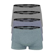 Edmund bavlněné boxerky pro tebe G0830 - 4 bal L MIX