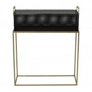 Xenos Plantenbak met gouden frame - 60x23x74cm