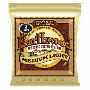 Ernie Ball 3003 Earthwood Medium Light 80/20 Bronze Acoustic 3 Pack