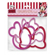 ALMACENESADAN® Set 3 tagliabiscotti Disney Minnie Mouse