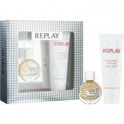 Replay for Her lote de regalo I. eau de toilette 20 ml + leche corporal 100 ml