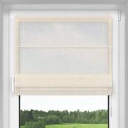 Catalea Roleta rzymska, Transparentna, Na wymiar, Standard, Serek mascarpone