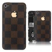 iPhone 4S Bakstycke LV (Brun)