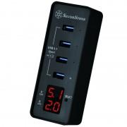 Silverstone SST-EP03 v2.0 Hub 4 Puertos USB 3.1