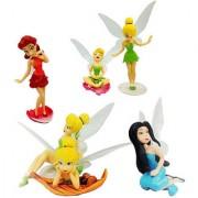 Futaba Tinkerbell Fairy Animation Cartoon Dolls - Pack of Six