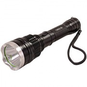 GOR Sun Tactical Rechargeable 300M LED Flashlight Torch 6.8 Inch