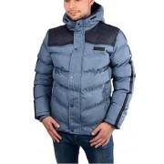 Cars Jeans Jachetă albastră pentru bărbați Bitetto Navy 4146912 L