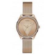 Guess Tri Glitz Rose Gold Womens Watch W1142L4