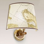 Laguna wall light, brass