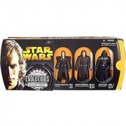 Star Wars: Episode III: Revenge of the Sith Evolutions: Anakin Skywalker to Darth Vader Action Figure Multi-Pack