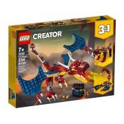 Lego Конструктор Lego Creator Огненный дракон 234 дет. 31102