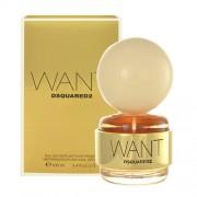 Dsquared2 Want 100Ml Per Donna Senza Confezione (Eau De Parfum)