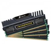 Memorie Corsair 32GB (4x8GB) DDR3, 1600 MHz, CL10, radiator Vengeance, Quad Channel, CMZ32GX3M4X1600C10