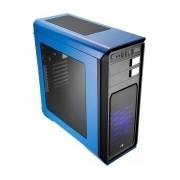 Gabinete Aerocool Aero-800, Midi-Tower, ATX/micro-ATX/mini-iTX, USB 2.0/3.0, sin Fuente, Azul