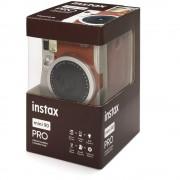 Fujifilm Instax Mini 90 Neo Classic Aparat Foto Instant Kit cu Husa si Film 10 Buc Maro