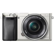 Sony Alpha ILCE-6000L Systeemcamera, 16-50 Zoom, 24,3 Megapixel, 7,5 cm (3 inch) Display