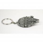 Llavero Replica Millennium Falcon Star Wars Keychain Metal De Han Solo