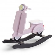 CHILDWOOD Rocking Scooter Pink and Black CWRSP