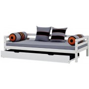 Hoppekids Bäddsoffa med sänglådor 90x200 cm - Hoppekids Skater Säng 102711