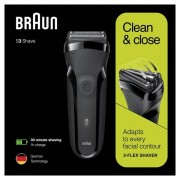 Braun Shaver Series 3 Black 300s