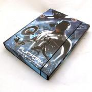 Tron füzetbox - A4 - kék