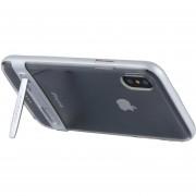 Mercury Goospery 5,5 Pulgadas Para IPhone X Desmontable Galvanotecnia Bumper Frame + TPU Protector Antichoque Volver Funda Con Soporte (blanco)