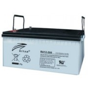 RA12260 12V 260 Ah Zárt ólomzselés akkumulátor (RITAR)