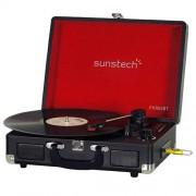 Sunstech Tocadiscos Bluetooth PXR6SBT Negro