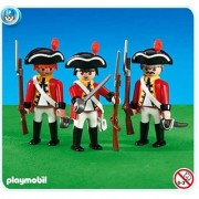 Playmobil Add-On Series - 3 British Redcoat Soldiers