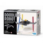 Kit De Fabrication Fun Mechanics Robot Doodle : Robot Dessinateur