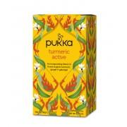 Pukka - Bio Fairtrade Arany Kurkuma Tea Gyömbérrel 36 g