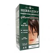 HERBATINT PERMANENT HERBAL HAIRCOLOUR GEL (4N - Chestnut) 1 or 2 Applications
