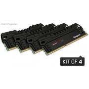 Kingston HyperX 32GB (4x 8GB) 2400MHZ DDR3 Non -ECC CL11 DIMM