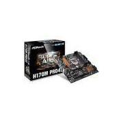 Placa Mae Intel 1151 H170M Pro4S Ddr4 Asrock