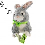 Simply Genius Storytelling Peter Rabbit Plush Toy Talking Moving Animated Stuffed Animal Toy Doll Holiday Christmas Gift Dcor & Decorations