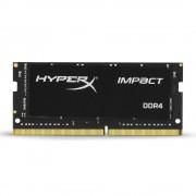 SODIMM, 8GB, DDR4, 2666MHz, KINGSTON HyperX IMPACT, CL15 (HX426S15IB2/8)
