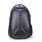 Men Hard Shell Backpack USB External Charging Travel Bag Laptop Bag for 15.6 Inches Laptops