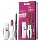 Pupa - Kit Labbra Perfette n.422 fancy violet (rossetto + matita waterproof)