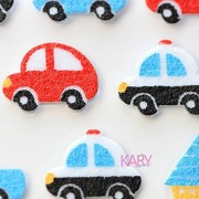 TOYSFORKARRY Police Cars Transporter Taxis Truck Bubble Sponge Sticker - Multi Color
