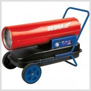 Naftový ohrievač s termostatom 30kW Dedra