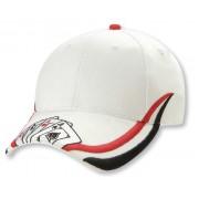 Legend Ace Cap White/Black/Red 4311